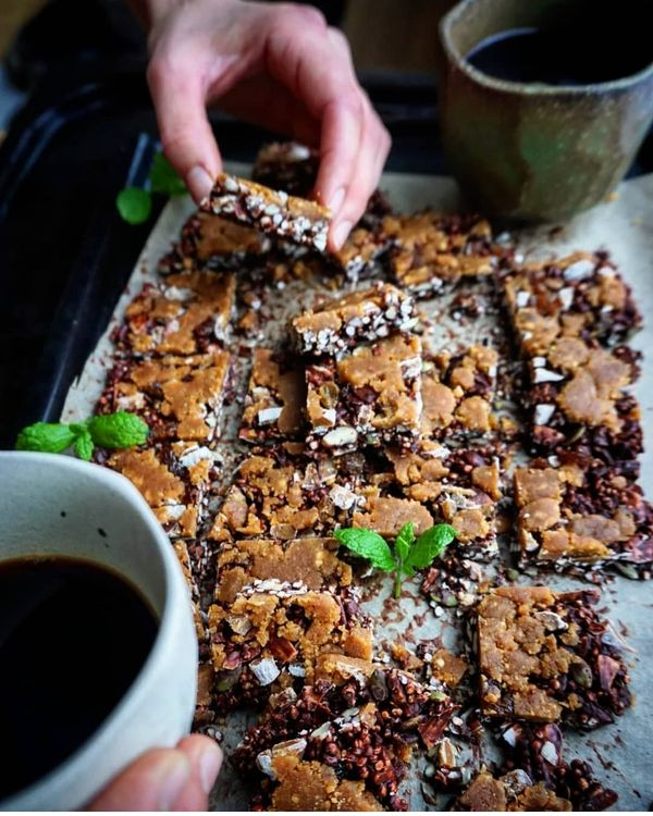 Nutty Quinoa Pop Tarts